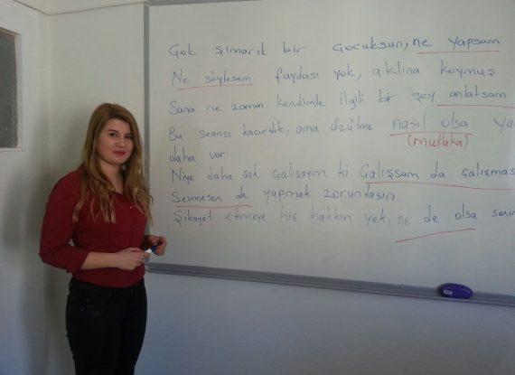 Yabancılar için Türkçe Kursu
